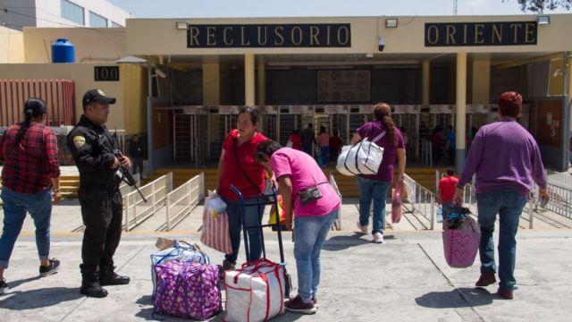 Foto: Entrada del Reclusorio Preventivo Varonil Oriente, en la Ciudad de México. Cuartoscuro/Archivo