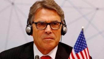Foto: Rick Perry, secretario de Energía de Estados Unidos. Reuters