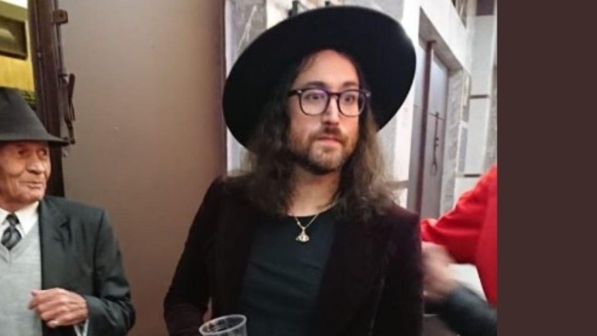 Foto: Sean Lennon, hijo de John Lennon y Yoko Ono.