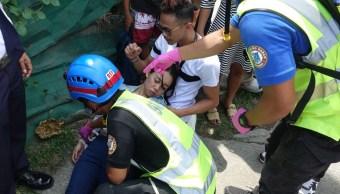 FOTO Sismo de magnitud 6.6 en Filipinas deja al menos 5 muertos