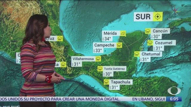 Frente frío 7 provocará bajas temperaturas en norte y noreste de México