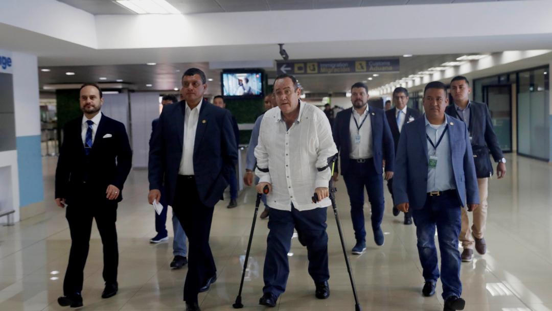 FOTO Alejandro Giammattei solo reconoce a Juan Guaidó como presidente legítimo de Venezuela (EFE)