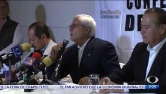 Gobernador electo de BC, Jaime Bonilla, está en la CDMX