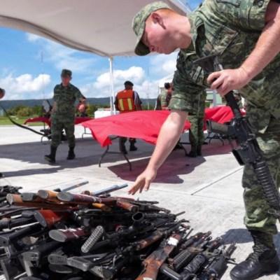 Gobierno Federal dotará de armamento a corporaciones para 2020
