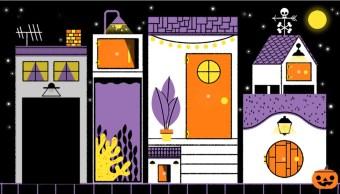 Foto: Google festeja el Halloween con un doodle interactivo