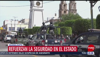 Foto: Guanajuato Refuerza Seguridad Evitar Ingreso Delincuentes 23 Octubre 2019