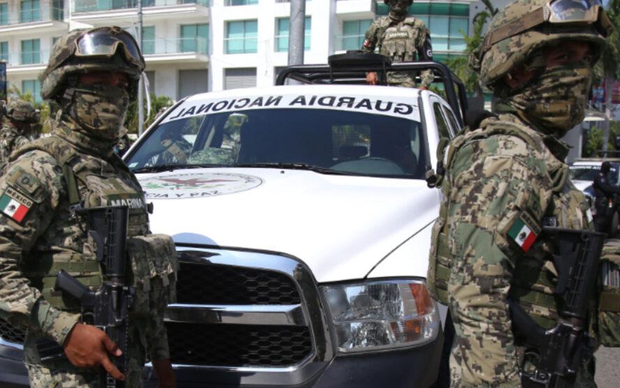 Imagen: Los seis detenidos fueron puestos a disposición de la Fiscalía General de Justicia del estado, 12 de octubre de 2019 (Carlos Alberto Carbajal /Cuartoscuro.com)