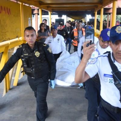 Muere hombre en el Metro Guelatao tras ser apuñalado