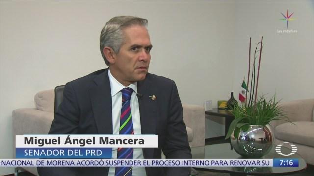 Habla Mancera de las acusaciones contra exfuncionarios de CDMX