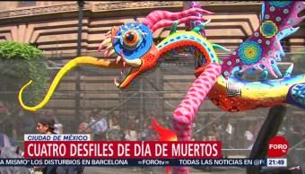 Foto: Habrá Cuatros Desfiles Cdmx Día Muertos 16 Octubre 2019