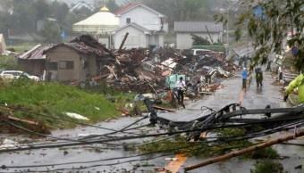 Más de 40 muertos y en aumento por paso de Hagibis en Japón