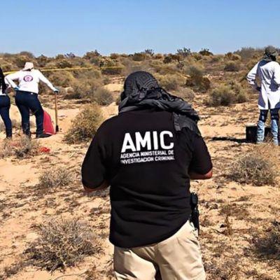 Hallan 13 cuerpos en un predio de Puerto Peñasco, Sonora