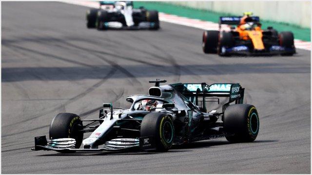 Foto: Lewis Hamilton ganó el Gran Premio de México, 27 de octubre de 2019 (Getty Images)