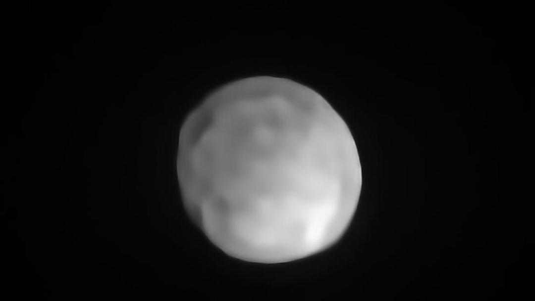 Foto Confirman a Higía como el planeta enano más pequeño del sistema solar 29 octubre 2019