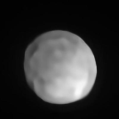 Confirman a Higía como el planeta enano más pequeño del sistema solar