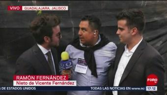 FOTO:Homenaje a Vicente Fernández en Guadalajara, Jalisco, 6 octubre 2019