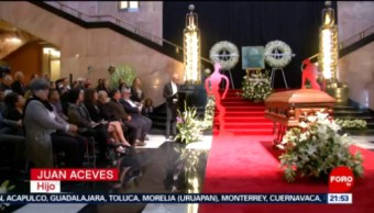 Foto: Homenaje Póstumo Gilberto Aceves Navarro Bellas Artes 22 Octubre 2019