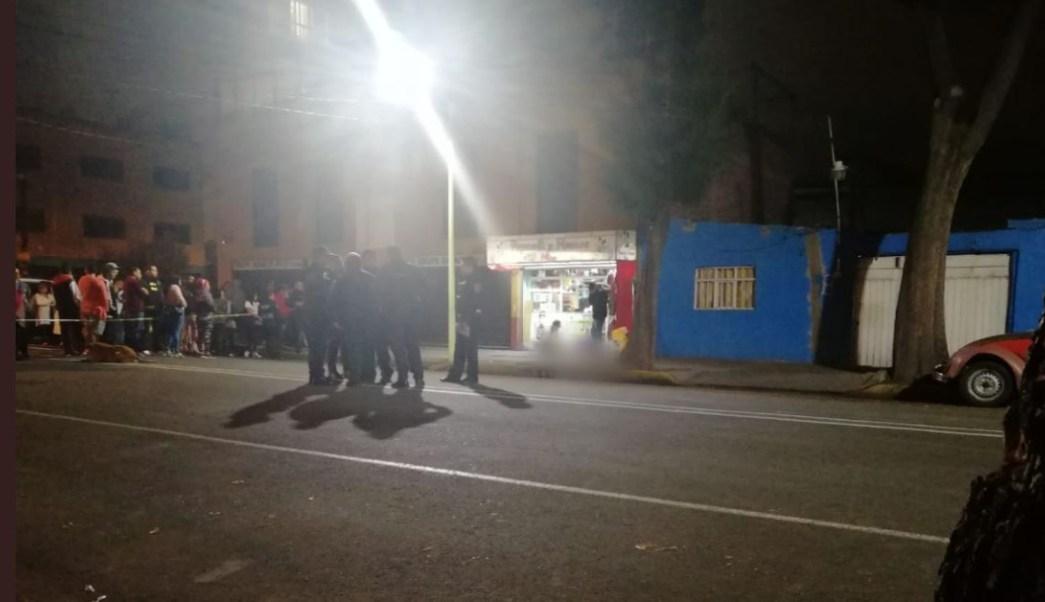 Foto: Dos sujetos armados asesinaron a un hombre en calles de la alcaldía Venustiano Carranza, 13 octubre 2019