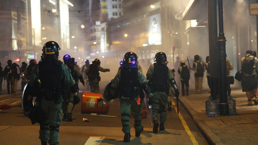 Foto: Hong Kong cae en recesión por primera vez en 10 años