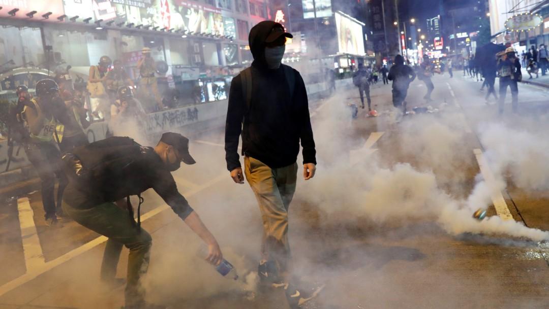 Foto: Hong Kong cae en recesión por primera vez en 10 años, 31 de octubre de 2019