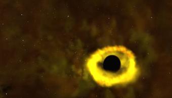 Foto Estrella es destruida por agujero negro; NASA registró el momento 2 octubre 2019