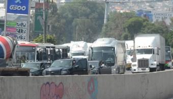 IMAGEN Alertan por posible megabloqueo de transportistas en CDMX