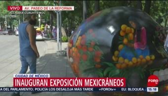 FOTO: Inauguran exposición de Mexicráneos en la Ciudad de México, 13 octubre 2019