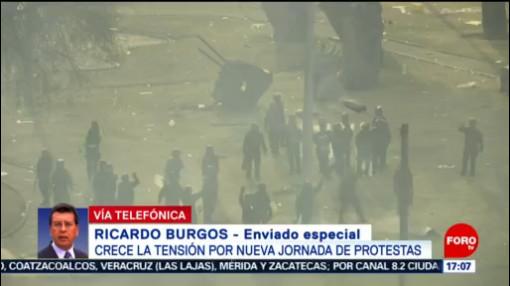 FOTO: Crece la tensión por nueva jornada de protestas en Ecuador, 12 octubre 2019