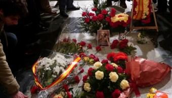 Inicia exhumación del general Franco en el Valle de los Caídos. (AP)