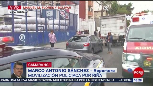 FOTO: Intento Asalto Deja Herido Colonia Obrera CDMX,