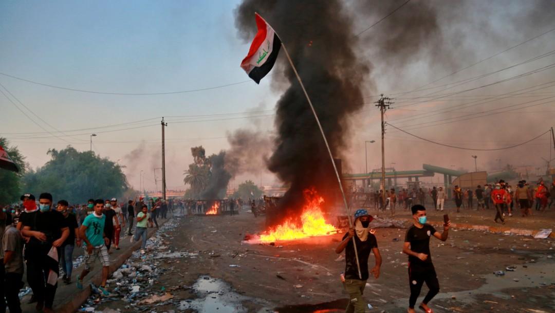 Foto: Protestas en Irak, 3 de octubre de 2019