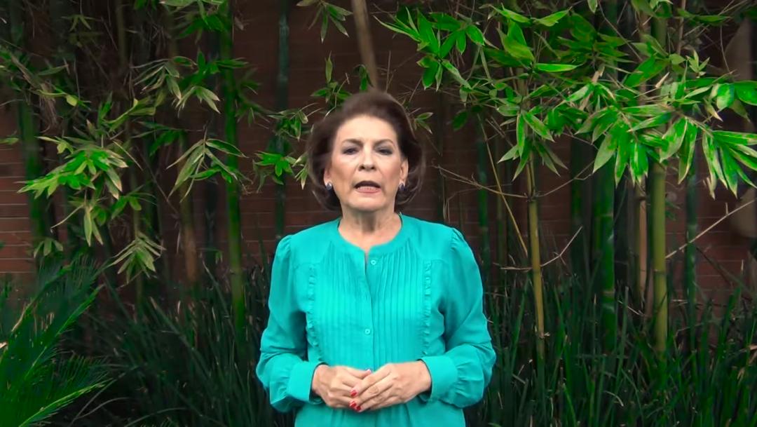 Foto: Isabel Miranda de Wallace, presidenta de la asociación Alto al Secuestro, 4 octubre 2019