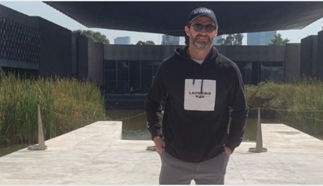 Foto: Hugh Jackman visitó el Museo de Antropología, 20 de octubre de 2019 (Instagram Hugh Jackman)