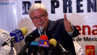 Foto: Jaime Bonilla, gobernador electo de Baja California