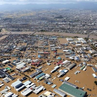 Tifón 'Hagibis' deja al menos 24 muertos e importantes inundaciones en Japón