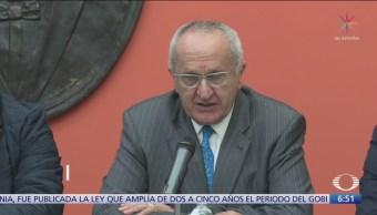 Jesús Seade, optimista por pronta ratificación del T-MEC