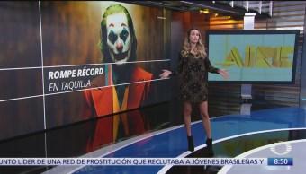 'Joker' rompe récord de taquilla, gana más de 90 mdd