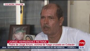 FOTO: Jorge Arturo Hernández es uno de los 4 civiles inocentes muertos en Culiacán, 25 octubre 2019