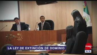 La ley de extinción de dominio