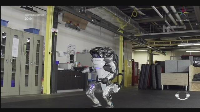 Foto: Robot Atlas Sorprendente Evolución 1 Octubre 2019