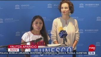 FOTO:La UNESCO reconoció el talento de Yalitza Aparicio, 5 octubre 2019