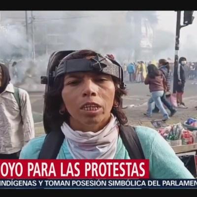La violencia que vive Ecuador durante las protestas