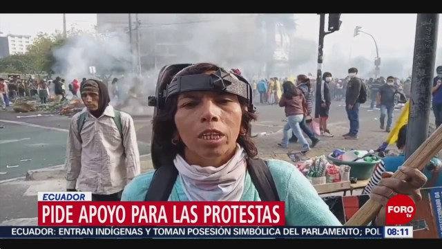 FOTO: La violencia que vive Ecuador durante las protestas, 13 octubre 2019