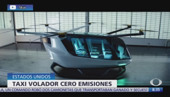 Lanzan primera nave aérea cero emisiones