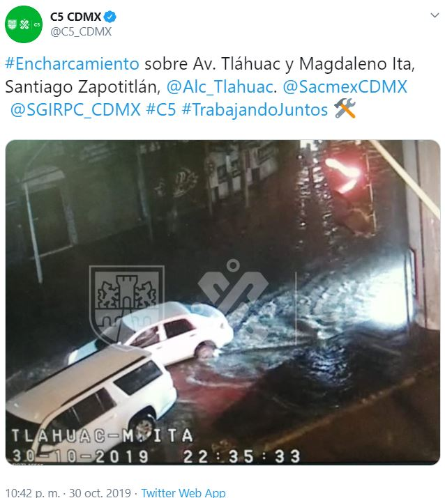 IMAGEN Lluvia deja dos muertos en Izcalli e inundaciones en CDMX