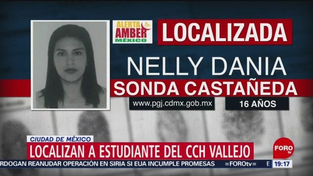 Foto: Estudiante Cch Vallejo Desparecida 18 Octubre 2019