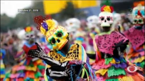 Foto: Desfiles Catrinas Día De Muertos CDMX 2019 28 Octubre 2019