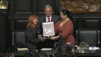 Foto: Premio Medalla Belisario Domínguez Lucha Desaparecidos 23 Octubre 2019