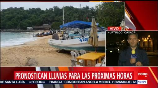 Foto: Mantienen Alerta Lluvias Costas Oaxaca 16 Octubre 2019