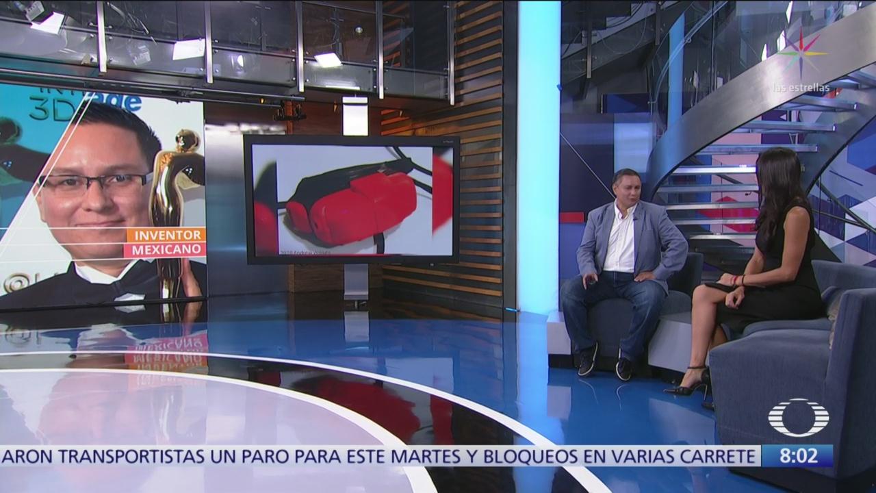 Manuel Gutiérrez Novelo, mexicano con 90 patentes, en Al Aire
